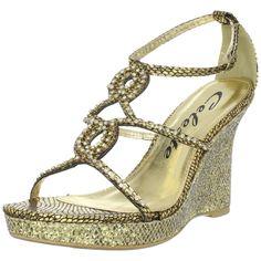 Sparkly high heels, super pretty! :3