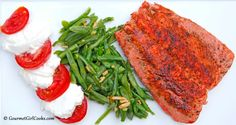 Gourmet Girl Cooks: Pan Seared Wild Alaskan Salmon - Quick, Easy & Delicious