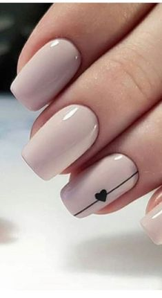 Have you heard of the idea of minimalist nail art designs? These nail designs are simple and beautiful. You need to make an art on your finger, whether it's simple or fancy nail art, it looks good. Simple Acrylic Nails, Acrylic Nail Art, Acrylic Nail Designs Classy, Heart Nail Designs, Nail Art Diy, Navy Nail Designs, Acrylic Nails Designs Short, How To Nail Art, Nail Art Blue