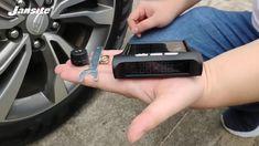 Smart Car TPMS Tyre Pressure Monitoring System Solar Power Digital LCD D...