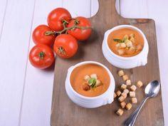 Receta   Crema de tomate - canalcocina.es