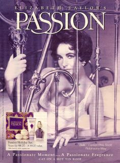 The Elizabeth Taylor Fragance called Passion