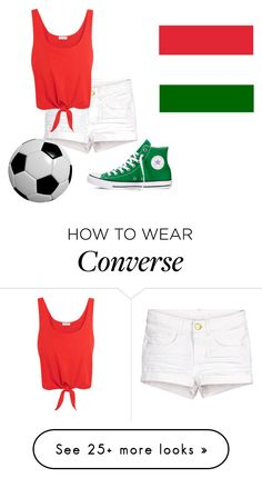 """""""Hungary"""" by norarogers on Polyvore featuring Splendid and Converse"""