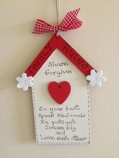 GINGHAM HOUSE Christmas Ornaments, Gelato, Holiday Decor, Gingham, House, Home Decor, Chess, Ice Cream, Haus