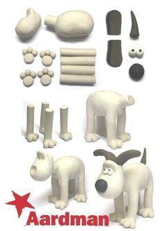 Gromit - sculpey craft activity