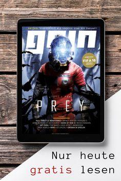 """Heute haben wir ein Geschenk für alle """"Zocker"""" unter euch 🎁🎮  Mit dem Code PREY könnt ihr das aktuelle GAIN Magazin gratis lesen:"""