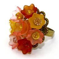 Lemonade Tulip Ring...  Designed By Leslie Boyer...Source:eksuccessbrands