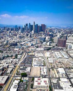 Los Angeles California by @copterpilotla by CaliforniaFeelings.com california cali LA CA SF SanDiego