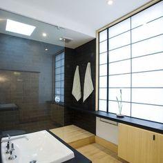Asian oriental bathroom