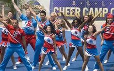Bring It On In it to Win it. Love that movie! Cheer Camp, Cheerleading Pictures, Bring It On, Team Pictures, Just For Fun, Dimples, Movies And Tv Shows, American, Cheers