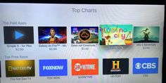Apple TV App Store adds Top Charts section, confirms popularity of games