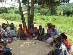 Gather the Women circle in Uganda