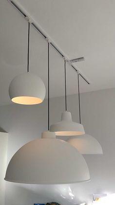 Get light into your home! Dining Room Lighting, Chandelier Lighting, Ceiling Light Design, Ceiling Lights, Interior Lighting, Lighting Design, Open Plan Kitchen Dining, Farmhouse Pendant Lighting, House Lamp