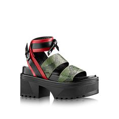 Pokerface Platform Sandal  in Women's Shoes  collections by Louis Vuitton