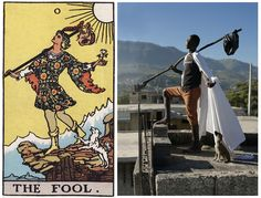 Photographer teams up with Haitian artists to transform Tarot cards into real scenes