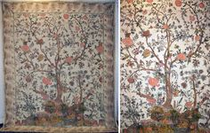 1920s Tree-Of-Life Batik | Blog | WGSN ___ inspiration for wall painting