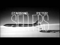 Title Sequence: Dr. Strangelove by Pablo Ferro (1964) // hand-drawn letters // http://www.flavorwire.com/334907/the-most-iconic-film-title-sequences-of-all-time