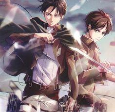 Levi and Eren | Shingeki no Kyojin (Attack on Titan - Ataque de los Titanes) #SnK #Anime