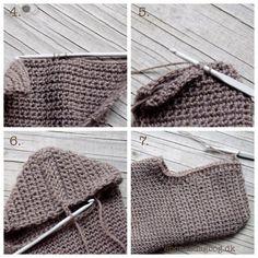 Hæklede sokker | Eponas dagbog Crochet Socks, Sock Shoes, Booty, Tote Bag, Knitting, Diy, Design, Tejidos, Creative