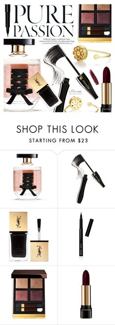 """Beauty After Dark"" by totwoo ❤ liked on Polyvore featuring Victoria's Secret, Lancôme, Yves Saint Laurent, Bobbi Brown Cosmetics, Tom Ford and NARS Cosmetics"