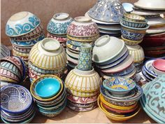 i would love to have all of these bowls