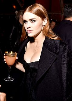 Holland Roden attends the August Getty Atelier SS 2016 'The Thread Of Man' Presentation With David LaChapelle on November 11, 2015