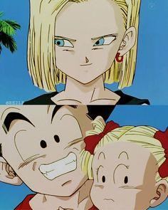 Goku, Dbz, Dragon Ball Z, Android 18, Dc Super Hero Girls, Trunks, Superhero, Wallpaper, Blonde Hair Girl