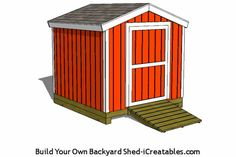 Shed Ideas - Shed Plans - tall wall, pre-hung door shed plans Now You Can Build ANY Shed In A Weekend Even If Youve Zero Woodworking Experience! Now You Can Build ANY Shed In A Weekend Even If You've Zero Woodworking Experience! Diy Shed Kits, Diy Storage Shed Plans, Building A Storage Shed, Backyard Storage, Backyard Sheds, Storage Sheds, Garden Sheds, Building Plans, 10x10 Shed Plans