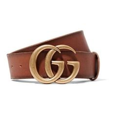 eb3f6a629f3a2 Gucci Gg Logo Leather Size 85 Belt. Free shipping and guaranteed  authenticity on Gucci Gg. Tradesy