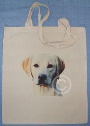 GOLDEN LABRADOR RETRIEVER -  COTTON DOG SHOULDER BAG
