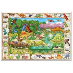 Dinosaur Discovery Floor Puzzle - Orchard Toys Floor Puzzles - Puzzles & Games - Catalogue