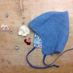 Linen springtime Pixie Bonnets 🌺