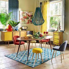 Casinha colorida: Aparadores: o móvel na sala de jantar