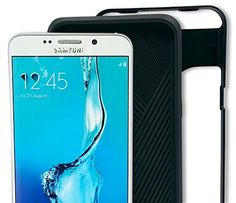 S6 Edge Plus Case - New Black Thin Slim Lightweight Hybrid TPU PC Cover for Your Samsung Galaxy Smartphone - Provides Exact Firm Fit and Best Protection (Black) Just Encase http://www.amazon.com/dp/B00PPIO9WM/ref=cm_sw_r_pi_dp_cyfLwb0A033JW