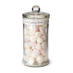 Bonbonnière meringues roses et blanches - 110g Arôme fraise - Bonbonnière - Les plaisirs sucrés - L'épicerie gourmande - Ustensiles de cuisine - Décoration d'intérieur - Alinéa