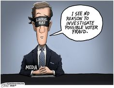 Today's Toons 11/13/20 - Today's Toons - The Right Reasons Media Bias, Investigations, Movies, Movie Posters, Films, Film Poster, Popcorn Posters, Study, Cinema