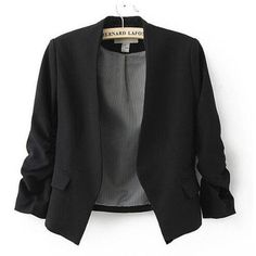 Online Exclusive Bubble Sleeves Blazer