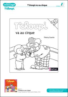 T'Choupi aime maman | Coloring pages | Pinterest