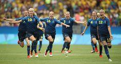 Futebol feminino do Brasil cai diante da Suécia nos pênaltis