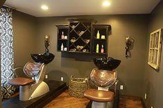 Paradigm Salon. Love these sinks!