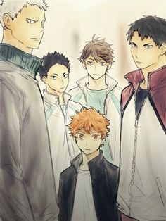 Omg this looks like hinata is surrounded by titans