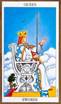 Queen of Swords - Tarot Card Meaning & Interpretation