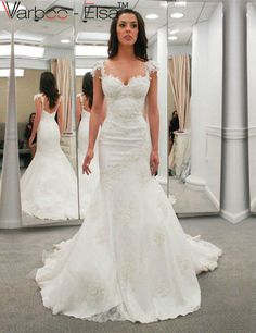 https://www.aliexpress.com/store/product/Robe-De-Mariage-Crystal-Wedding-Dresses-Lace-Applique-Beaded-Arabic-White-Dress-Cap-Sleeve-Mermaid/925737_32752335281.html Wedding Dress With Straps,Sexy Brides Dress,Wedding Dress, Strapless Wedding Dress, Beaded Wedding Dress, Corset Wedding Dress, Lace Wedding Dress, Appliques Wedding Dress, Bowknot Wedding Dress,mermaid wedding dresses