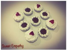 Cupcakes veganos de chocolate sem glúten