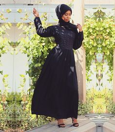 In love with this gorgeous abaya dress from @abayasboutique