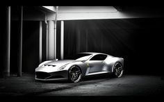 Silver Ferrari 612 GTO Concept.. They need to make this!