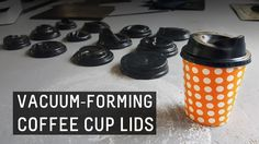 Check out the students vacuum formed plastic cup coffee lids using prototype designs. Visit https://www.vaquform.com for more info!