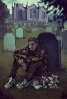 """I miss you, Harry by O-Zimina on DeviantArt <<< """"Don't be dead"""" I'M SORRY BUT THE SHERLOCK PARALLEL IS KILLING ME"""