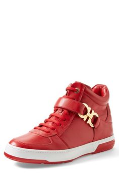 Salvatore Ferragamo 'Nayon' High Top Sneaker (Men)