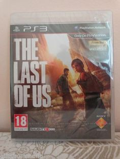The Last of Us PS3 Game PAL Region New Naughty Dog 2013 PlayStation 3